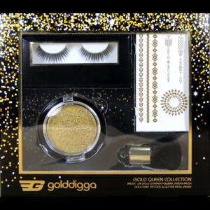 Kosmetik Geschenkset Gold Digga Glitter Set