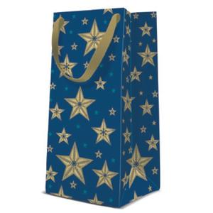 Geschenktasche Weihnachten Narrow 10x7x22cm Beautiful Stars