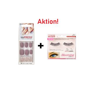 AKTION KISS ImPress Press-on Maniküre - So Unexpected Nägel + KISS Künstliche Wimpern
