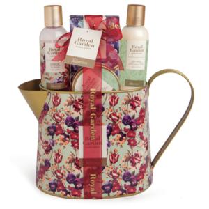 Kosmetik Geschenkset Royal Garden Kanne Groß