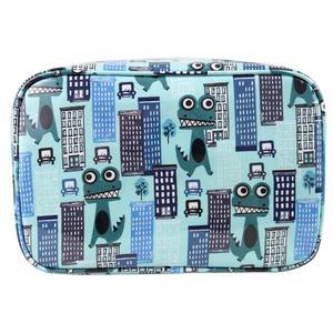 WS Monsters in Town Rectangular Travel Bag - Kosmetiktasche