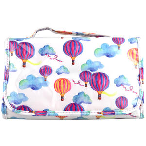 WS Hot Air Ballon Medium Tri-Fold Cos Bag - Kosmetiktasche