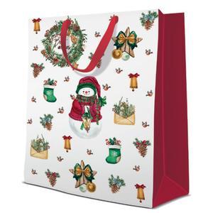 Geschenktasche Weihnachten Big 30x12x41cm Warm Holidays