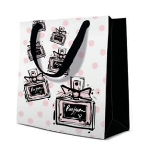 Geschenktasche Quadrat 17x17x6cm, Special Fragrance