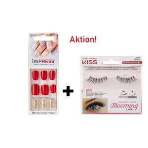 AKTION KISS ImPress Press-on Maniküre - String Along + KISS Künstliche Wimpern - Kopie