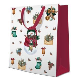 Geschenktasche Weihnachten Large 26,5x13,33,5cm Warm Holidays