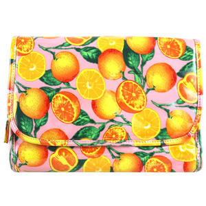 WS Citrus Fold Out Bag with Hook - Kosmetiktasche