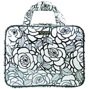 WS Fab Fleur Black Large Hold Bag - Kosmetiktasche