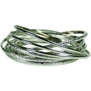 WS Bracelet 9 Piece Bangle Set - Armreifen