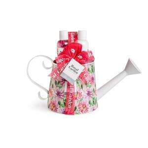 Kosmetik Geschenkset Royal Garden pink Gießkanne