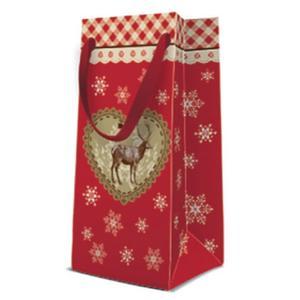 Geschenktasche Weihnachten Narrow 10x7x22cm Loving Christmas
