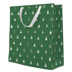 Geschenktasche Weihnachten Large 26,5x13,33,5cm Simple Trees