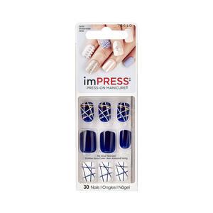 KISS ImPress Press-on Maniküre - Power Up Nägel