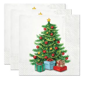 Servietten, Papier 3-lagig, 33x33cm, 3x20 Stück Underneath the Tree