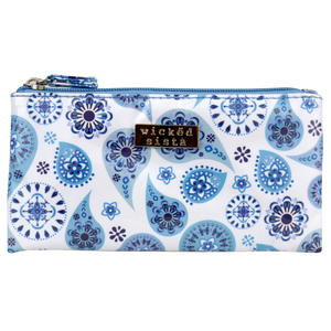 WS Pretty Paisley Small Flat Purse - Kosmetiktasche