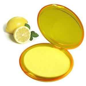 Seifenblättchen - Papierseifen Zitrone