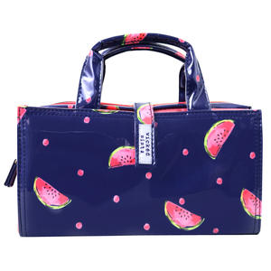 WS Watermelon Spots Large Handle Cos Bag - Kosmetiktasche