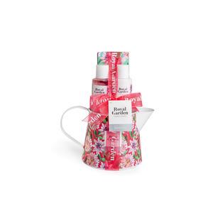 Kosmetik Geschenkset Royal Garden pink Kanne
