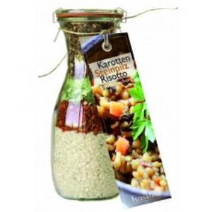 Mischung für Karotten Steinpilz Risotto - 250 ml mit Rezept