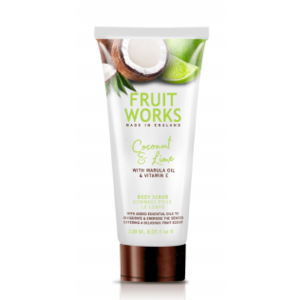 Fruit Works Körperscrub - Coconut & Lime 238ml