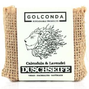Bio Duschseife Calendula & Lavendel 65g