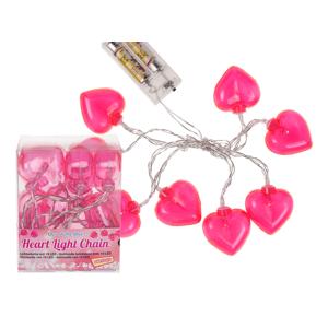 LED Lichterkette Herz