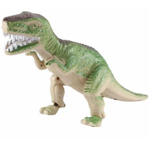 T-REX Dino (grün),Elektrischer Dinosaurier mit Hellen LED AugenBewegt Sich vorwärts,dreht den Kopf,hebt und senkt die Arme und gibt Saurier Geräusche von sich!