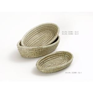 Seegras-Brotkorb oval, groß