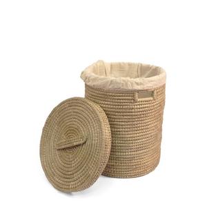 Seegras - Wäschekorb rund