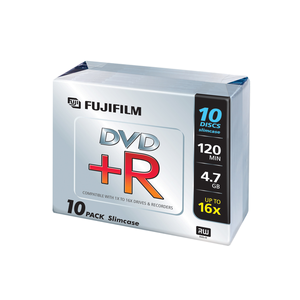 DVD+R in Jewelcase 10er Pack