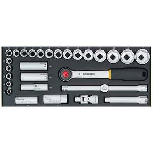 Proxxon Steckschlüsselsatz 1/2 29-tlg. (23000)