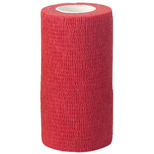 Kerbl EquiLastic selbsthaftende Bandage, rot, 10cm breit (1694)