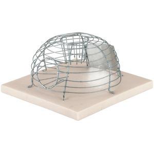 Kerbl Korb-Mausefalle MouseCage, mit 2 Eingängen (299617)