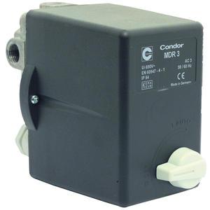 Elmag Druckschalter Condor. Mdr 3 EA/11 Bar, 400 Volt (6,3 - 10A) (11936)