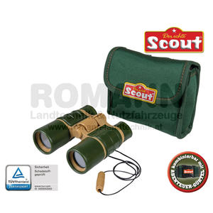 Scout Fernglas mit Neopren-Gürteltasche