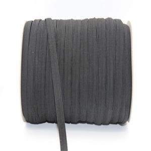 Gummilitze schwarz 3mm - 10m