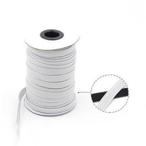 Gummilitze weiß 3mm - 10m