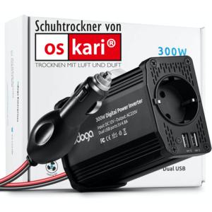 Stromanschluss IM Auto für ALLE Typen OSKARI® Bora®