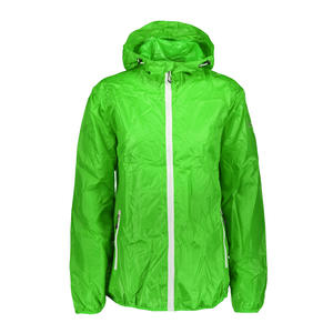 3X57726 WOMAN RAIN FIX HOOD JACKET