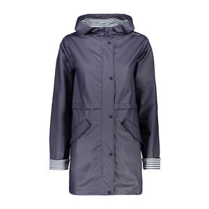 30X9736 WOMAN RAIN FIX HOOD JACKET