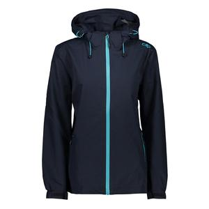 30X9766 WOMAN RAIN ZIP HOOD JACKET WITH VENTILATION