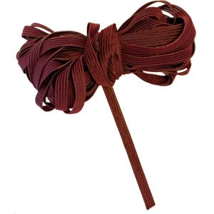 Gummiband Einziehgummi 6mm / 10m Farbe Dunkelrot Weinrot Bordeauxrot