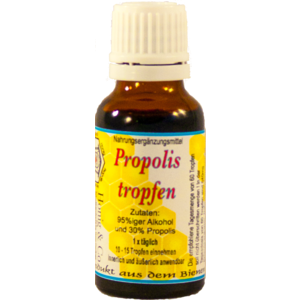 Propolis Tropfen 30% - Direkt vom Imker !