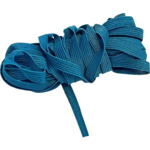 Gummiband Einziehgummi 6mm / 10m Farbe Blau Hellblau Türkisblau