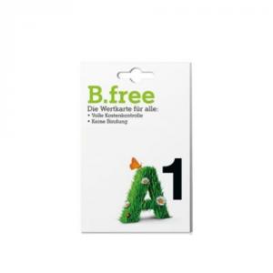 A1 B-Free Voice inkl. Freieinheiten 5000min/5000mb/5000sms Wertkarte