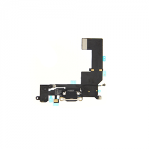 Ladebuchse Audio Flex Kabel für iPhone SE schwarz