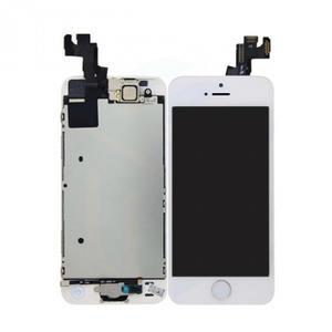 LCD Display-Einheit (inkl. montierte Ersatzteile) für Apple iPhone SE/5S weiß
