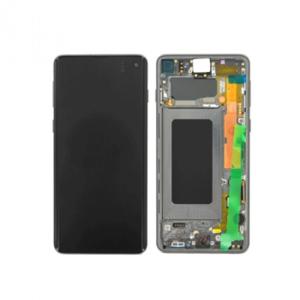 Samsung Galaxy S10 Plus SM-G975F LCD Display inkl. Rahmen, Prism Schwarz