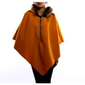 Damen Kapuzen - Poncho | Mantel