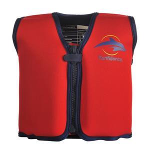 Konfidence Jacket Schwimmweste rot/gelb 18 Monate - 3 Jahre